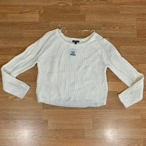 New Freshman Women Juniors Sweater Top Size L
